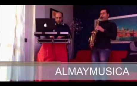 ALMAYMUSICA – DJ MARK E SAX PIETRO – Lounge Sax e dj